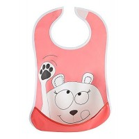 Bavetica moale Pink Bear Badabulle