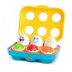 Jucarie Put N Shake Eggs Giggling Gourmet Bright Starts