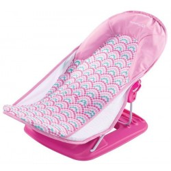 Suport pentru baita Deluxe Pink Stripes Summer Infant