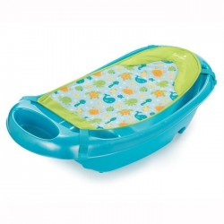 Set cadita si suport de baita Splish n Splash Blue Summer Infant