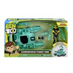 Vehicul extraterestru Cap de Diamant cu figurina Ben 10