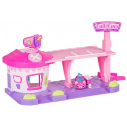 Playset restaurant drive in Cutie Cars