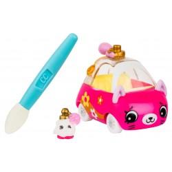 Set de joaca Cutie Cars cu masinuta care isi schimba culoarea Le Zoom