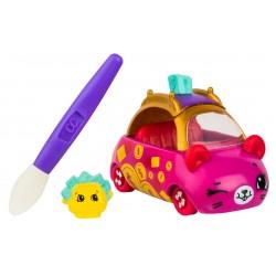 Set de joaca Cutie Cars cu masinuta care isi schimba culoarea Purse Gear