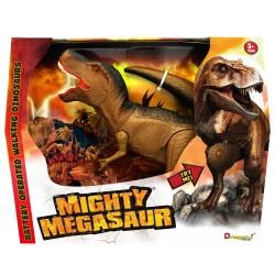 Dinozaur T-Rex cu lumini si sunete