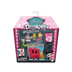 Mini set de joaca Doorables 2 figurine si accesorii - Boo Bedroom