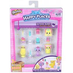 Set de joaca Happy Places S1 - Kit-ul decoratorului Bathing Bunny