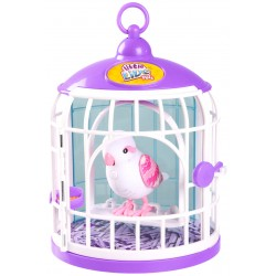Pasare Electronica Little Live Pets cu cusca S3 - Sweet Harmony