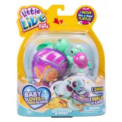 Testoasa electronica Little Live Pets cu pui S4 - Jules