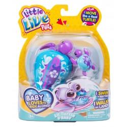 Testoasa electronica Little Live Pets cu pui S4 - Tide
