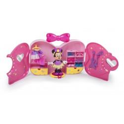 Set de joaca Minnie Mouse - Dressing cu tinute Pop Star