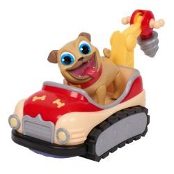 Figurina Puppy Dog Pals cu vehicul - Rolly