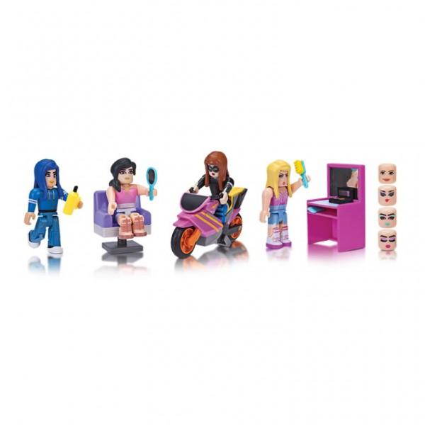 Set 4 figurine Roblox Celebrity interschimbabile