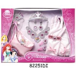 Set accesorii complet (12 piese) - Disney 3 New Princess