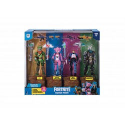 Set de joaca Fortnite Squad Mode cu 4 figurine si accesorii
