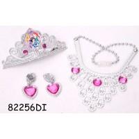 Set diadema si bijuterii (4 piese) - Disney 3 New Princess
