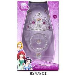 Set diadema si bijuterii - Printesele Disney
