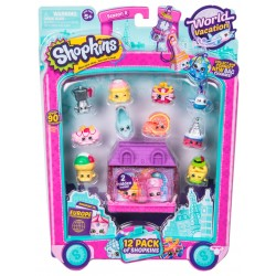 Set 12 figurine Shopkins colectia Europa Purple