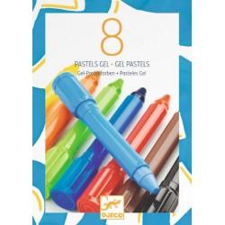 8 Culori gel Djeco
