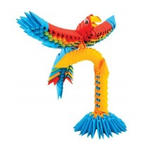 Origami 3D Creagami - Papagal