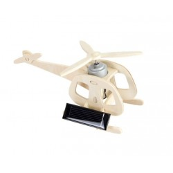Elicopter macheta cu panou solar