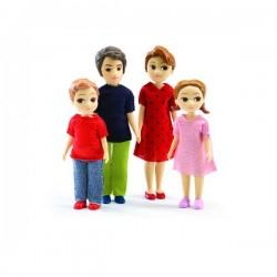 Figurine - Familie Djeco Thomas și Marion