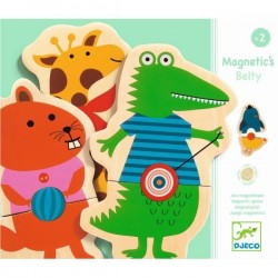 Joc cu magneti Djeco Animale cu buline