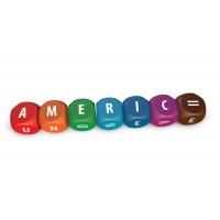 Joc cu zaruri ABC - Formeaza cuvinte