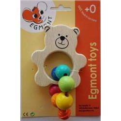 Jucarie bebe Egmont - Ursulet cu clopotel