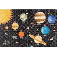 Micro puzzle Londji 600 piese - Cosmos