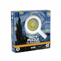 Micro Puzzle Londji 600 piese - Noaptea instelata Van Gogh
