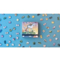 Micro Puzzle Unicorn 100 piese Londji