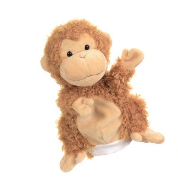 Papusa de mana maimutica