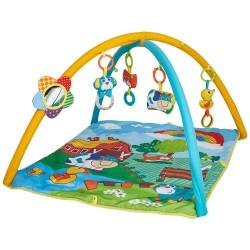 Salteluta de joaca patrata ferma vesela Kidscare