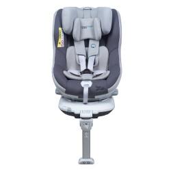Scaun auto Rear Facing rotativ Tiago 0-18 kg gri KidsCare