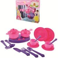 Accesorii bucatarie copii 18 piese Princess Maya and Friends Ucar Toys UC142