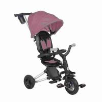 Tricicleta ultrapliabila cu roti cauciuc Qplay Nova Air Violet