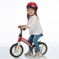 Bicicleta fara pedale Qplay Impact Rosu