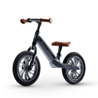 Bicicleta fara pedale Balance Bike QPlay Racer Gri
