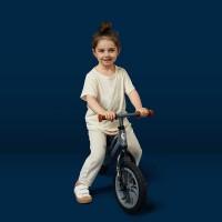 Bicicleta fara pedale Balance bike QPlay Racer Negru
