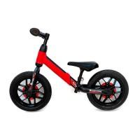 Bicicleta fara pedale Balance bike QPlay Spark Rosu