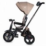 Tricicleta multifunctionala 4 in 1 cu sezut reversibil Coccolle Velo Bej