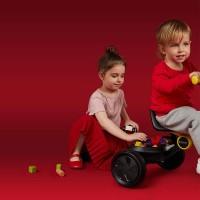 Tricicleta copii QPlay Ant Plus Gri