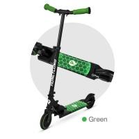 Trotineta LED QPlay Honeycomb Verde