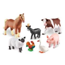 Set 7 figurine Learning Resources - Animalute de la ferma