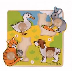 Primul meu puzzle - Animale de companie