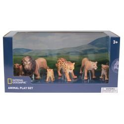 Set 6 figurine - Lei si Leoparzi