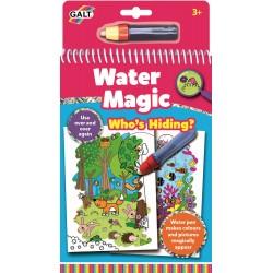 Water Magic Carte de colorat Who's Hiding?