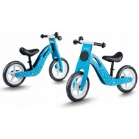 Bicicleta de lemn fara pedale Ricokids RC-613 - Albastru