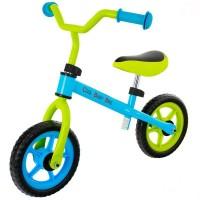 Bicicleta fara pedale EURObaby Cool Baby Bike - Albastru cu verde